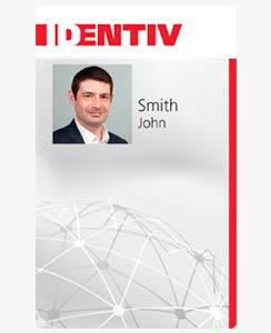 Identiv SmartID 80K CL-Only Smart Card with 125 kHz Proximity