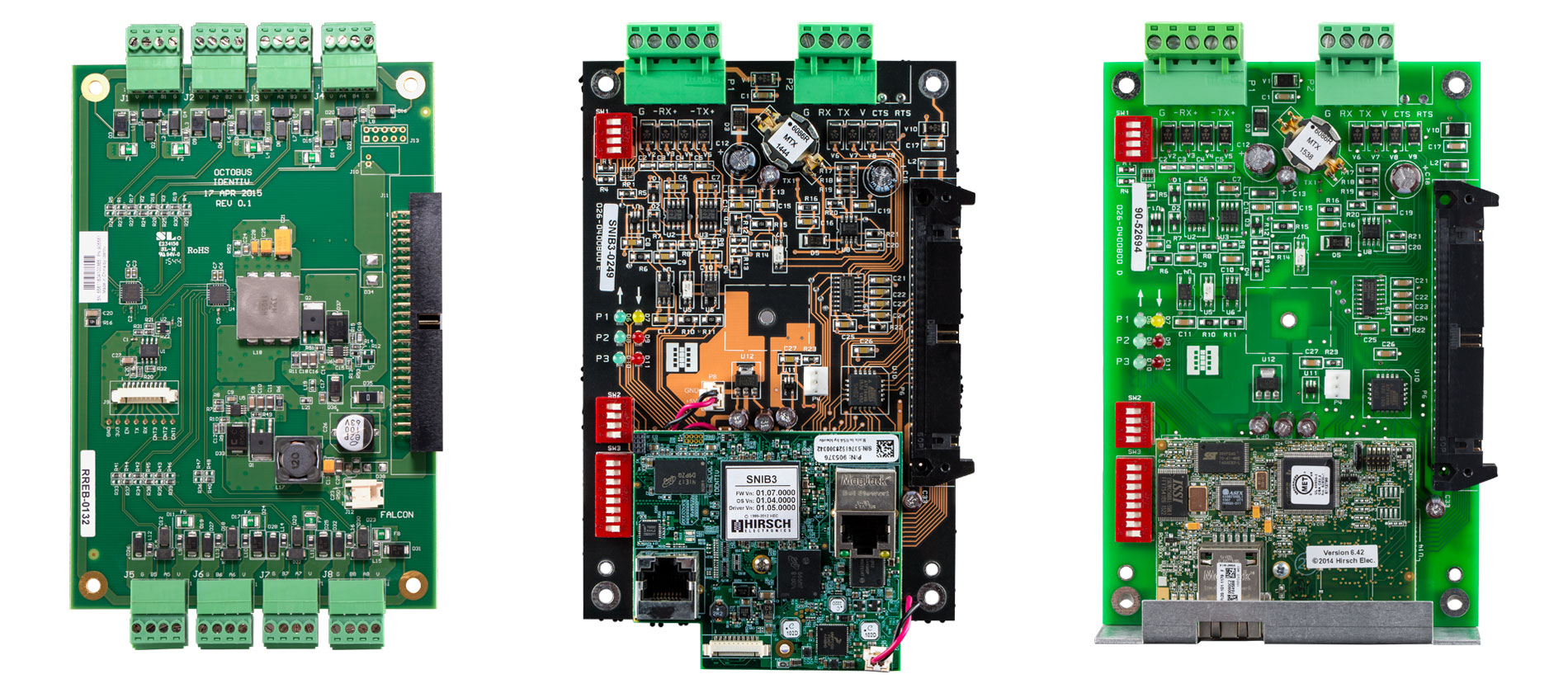 Identiv Communication Boards